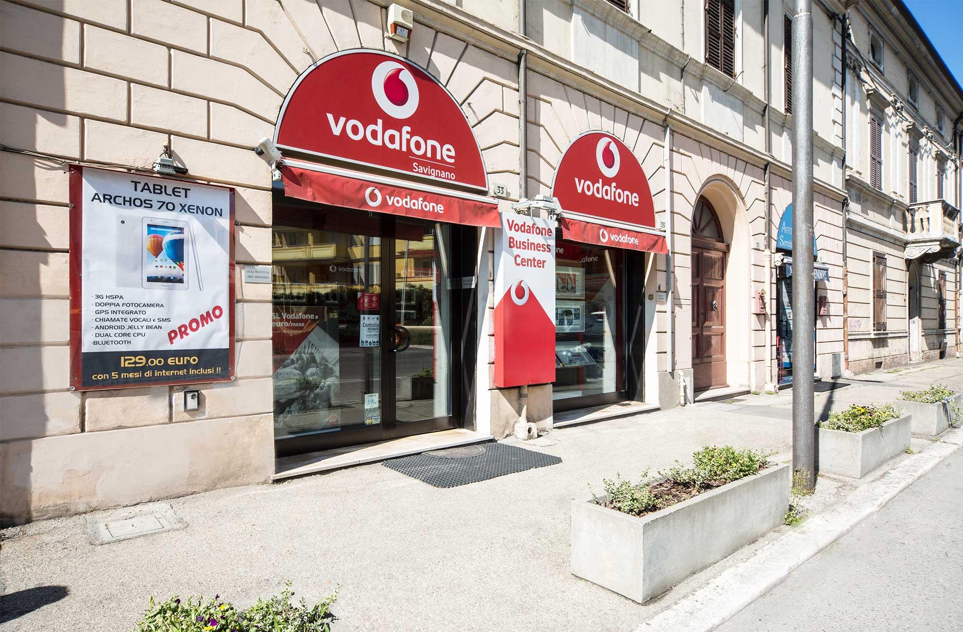 Il Vostro negozio Vodafone di fiducia